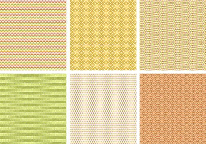 Grungy Retro Vector Pattern Pack