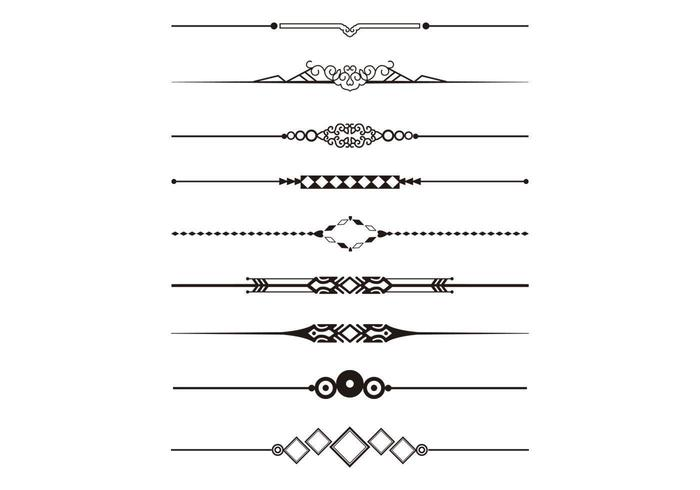 Decorative Divider Vector Pack