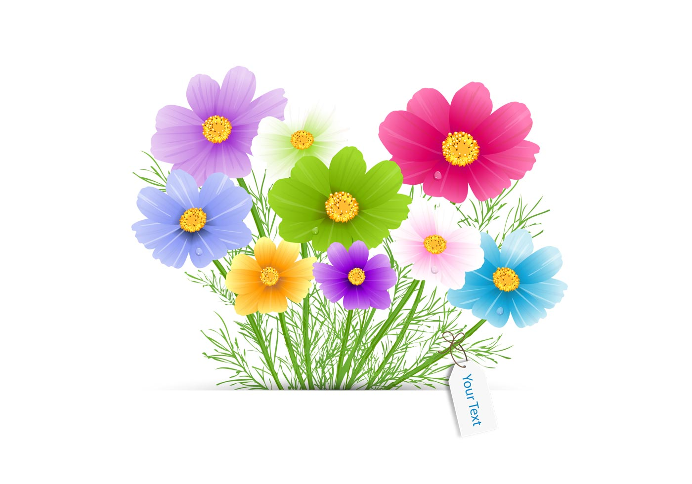 Flower Bouquet Vector Download Free Vector Art Stock Graphics