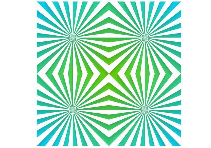 Emerald sunburst paquete de papel tapiz de vectores