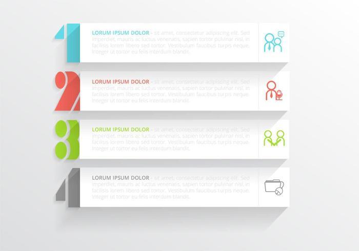 Modern Horizontal Banner Vector Pack