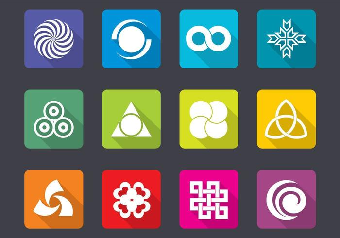 Bright Design Icon Vector Pack