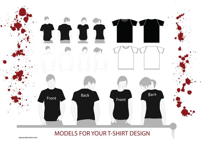 T-Shirt Vector Models
