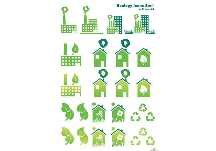 Ecology Vector Set1