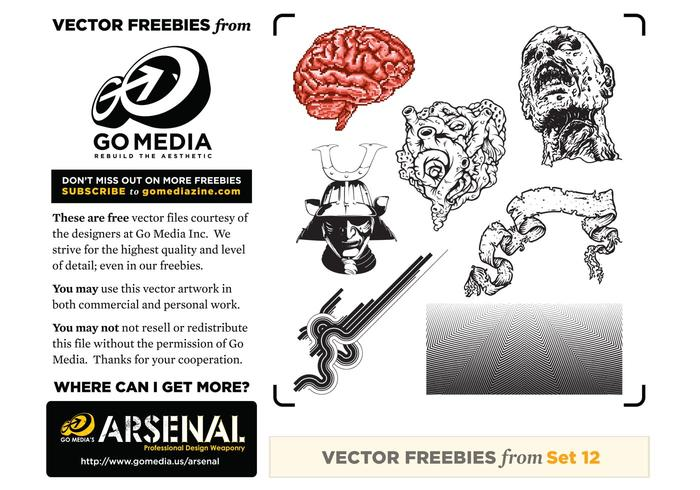 Free Vector Pack 12 Sampler