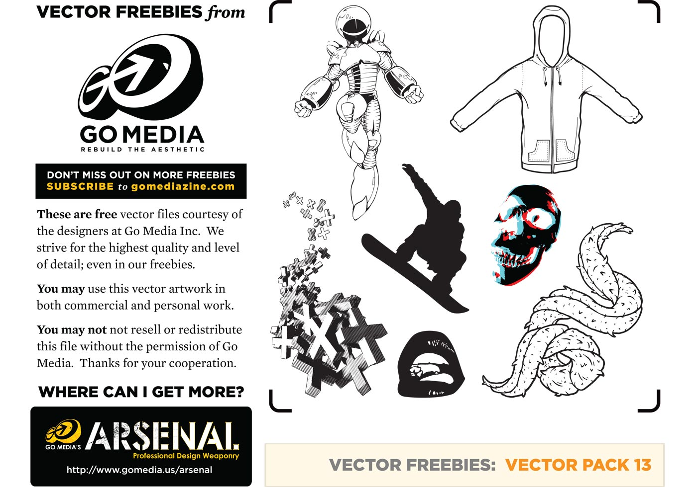 Vector graphics freebies