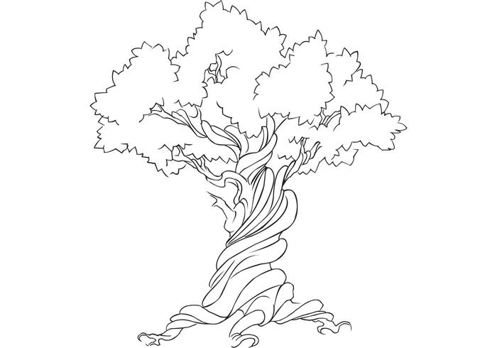 Free Vector Tree - Earth Week