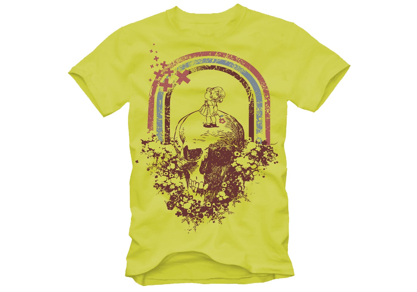 Free retro t shirt design download free vector art for T shirt design vector free