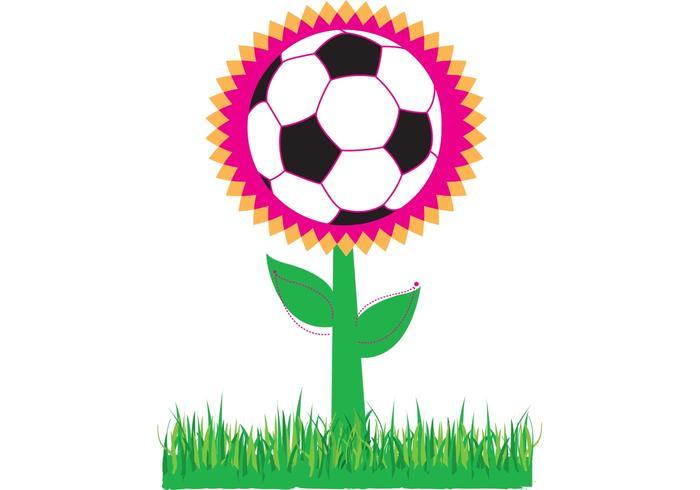 Soccer Flower