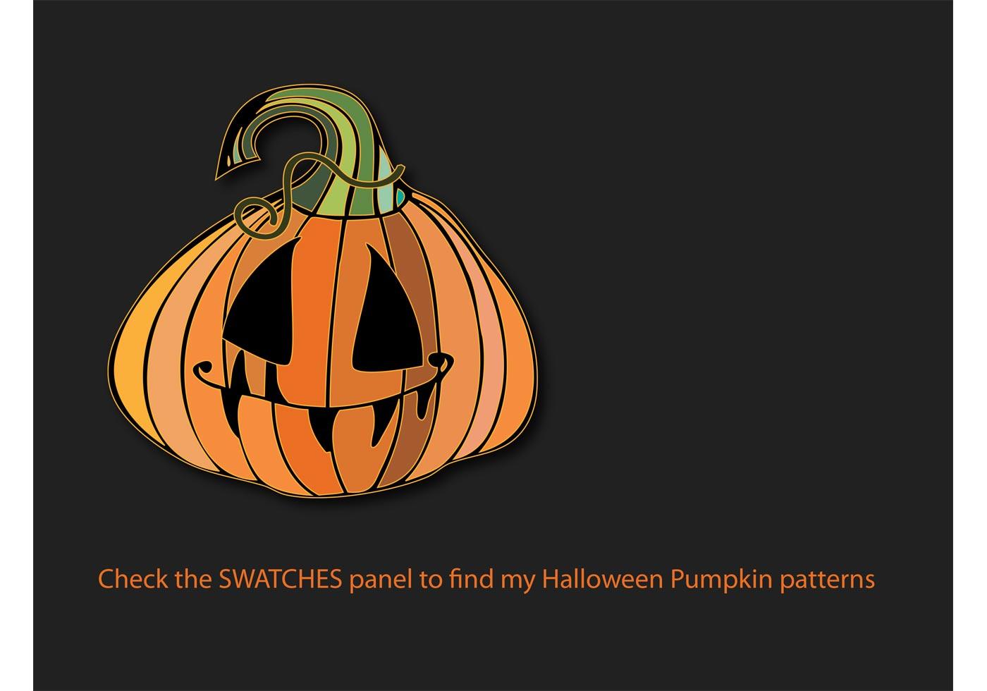 Pumpkin patterns download free vector art stock