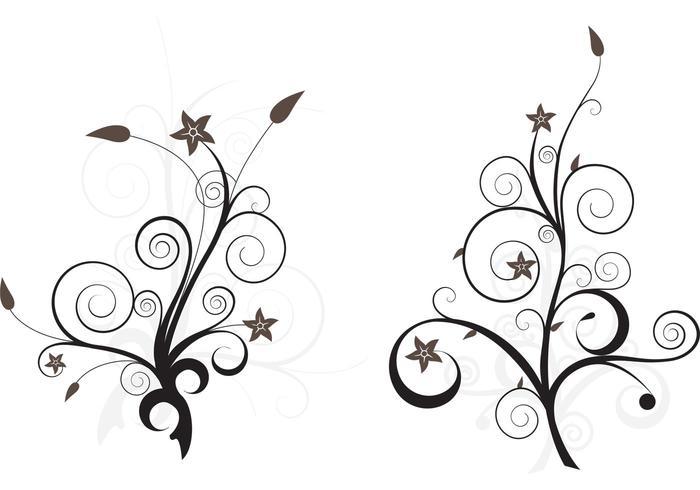 Floral Vector Art
