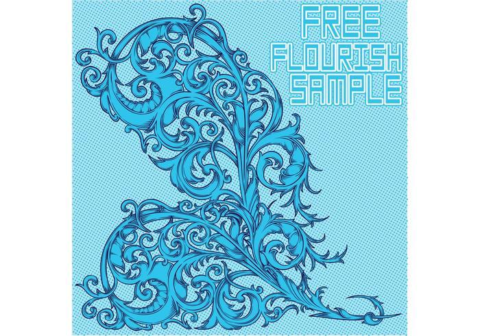 Free Vector Flourish