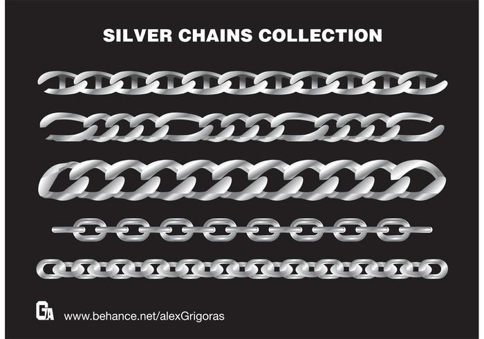 Silver Chains Collection