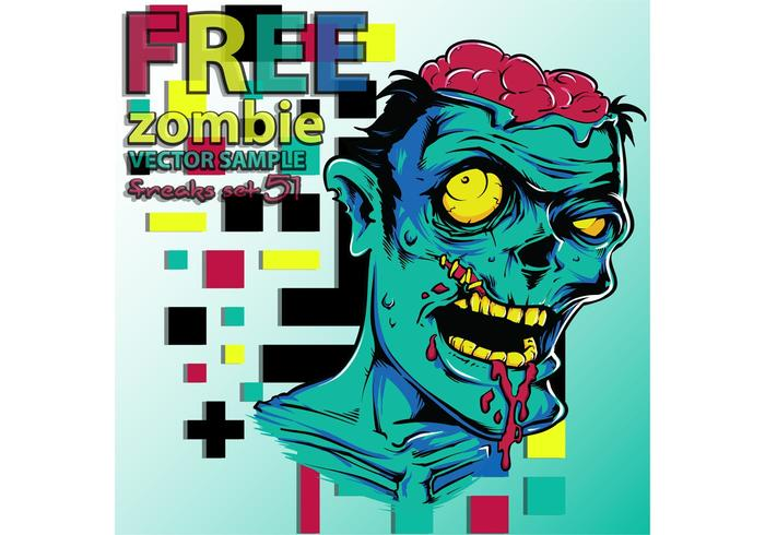 Free Vector Zombie