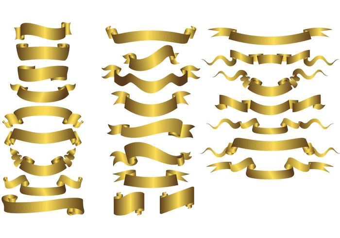 Free Vector Ribbons