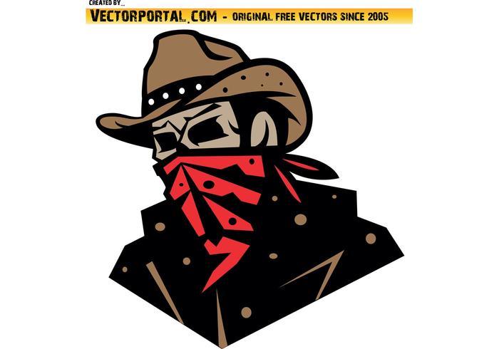 Cowboy Bandit Vektor