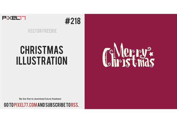 Vector de Ilustração do Natal