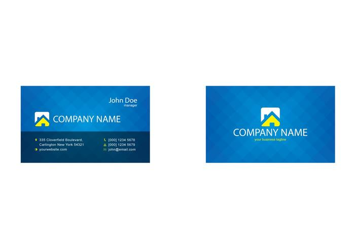 Free Vector Business Card Template