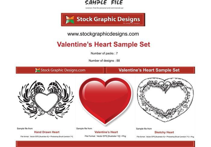 Valentine's Heart Vector
