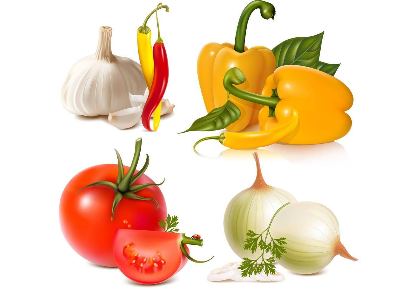 Vegetables Free Vector Graphic - Download Free Vector Art