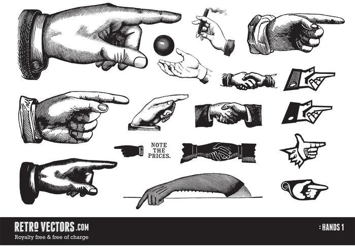 Vintage händer