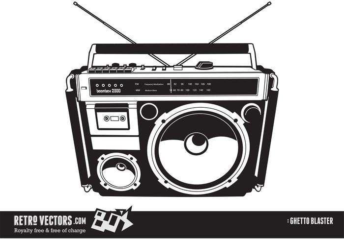 80's Boom Box/Ghetto Blaster