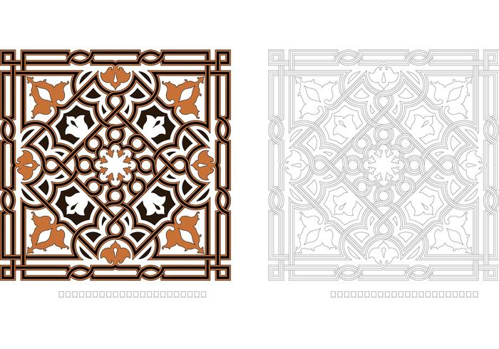 Ornament Vector Arabesque