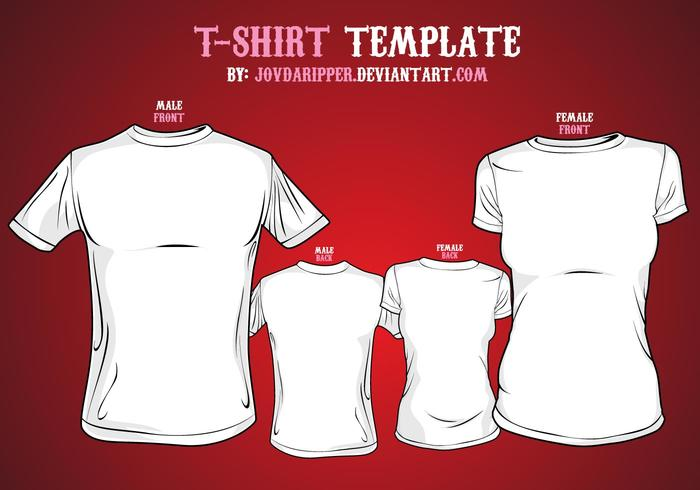 Free Vector T-shirt Template