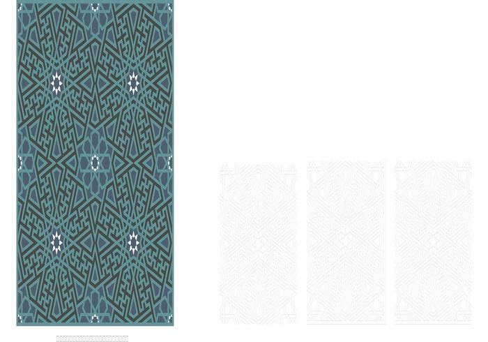 Faience Mosaik von Kara Tai Medrese