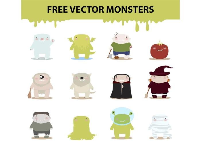 Vector Monsters