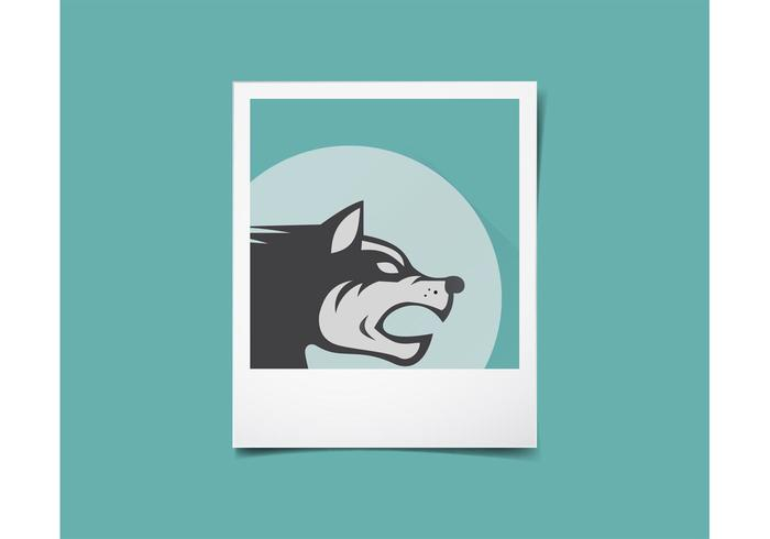 Polaroid Vector Template