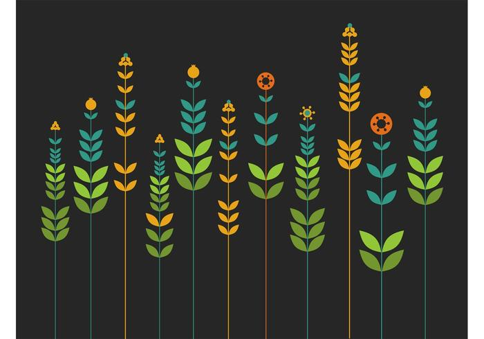 Simple Flowers Background