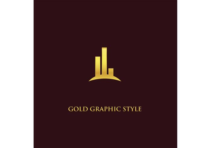 Free Gold Graphic Logo Vector