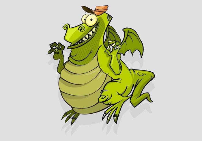 Cartoon Lizard Vector