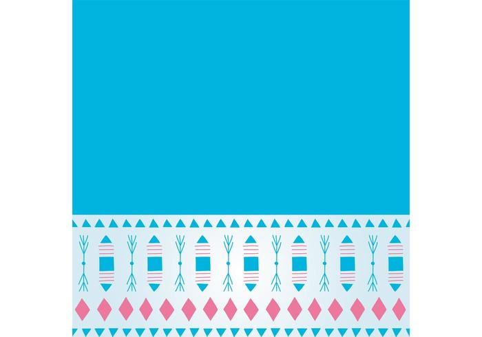 Free Teal Decorative Background Vector