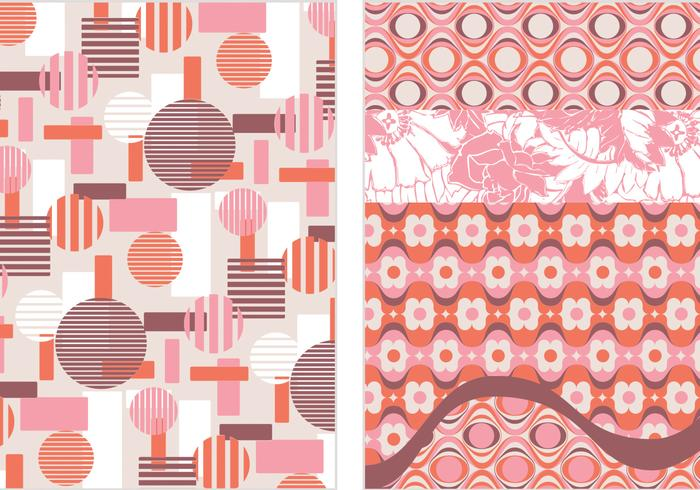 Retro Backgrounds Vectors