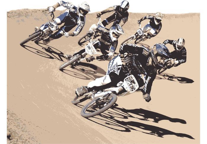 USA BMX BIker Vector Pro Pack 2