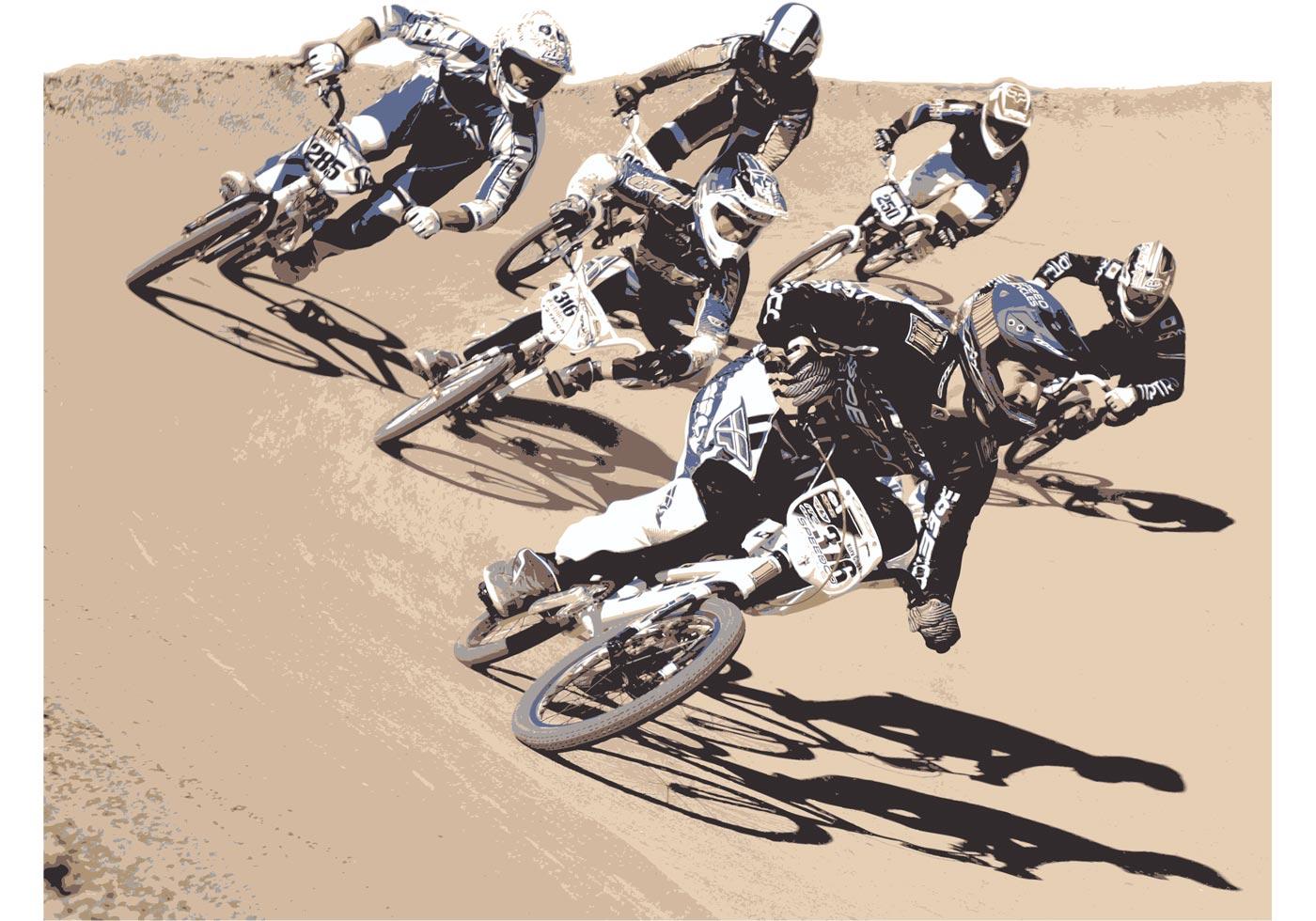 free vector biker free vector art at vecteezy