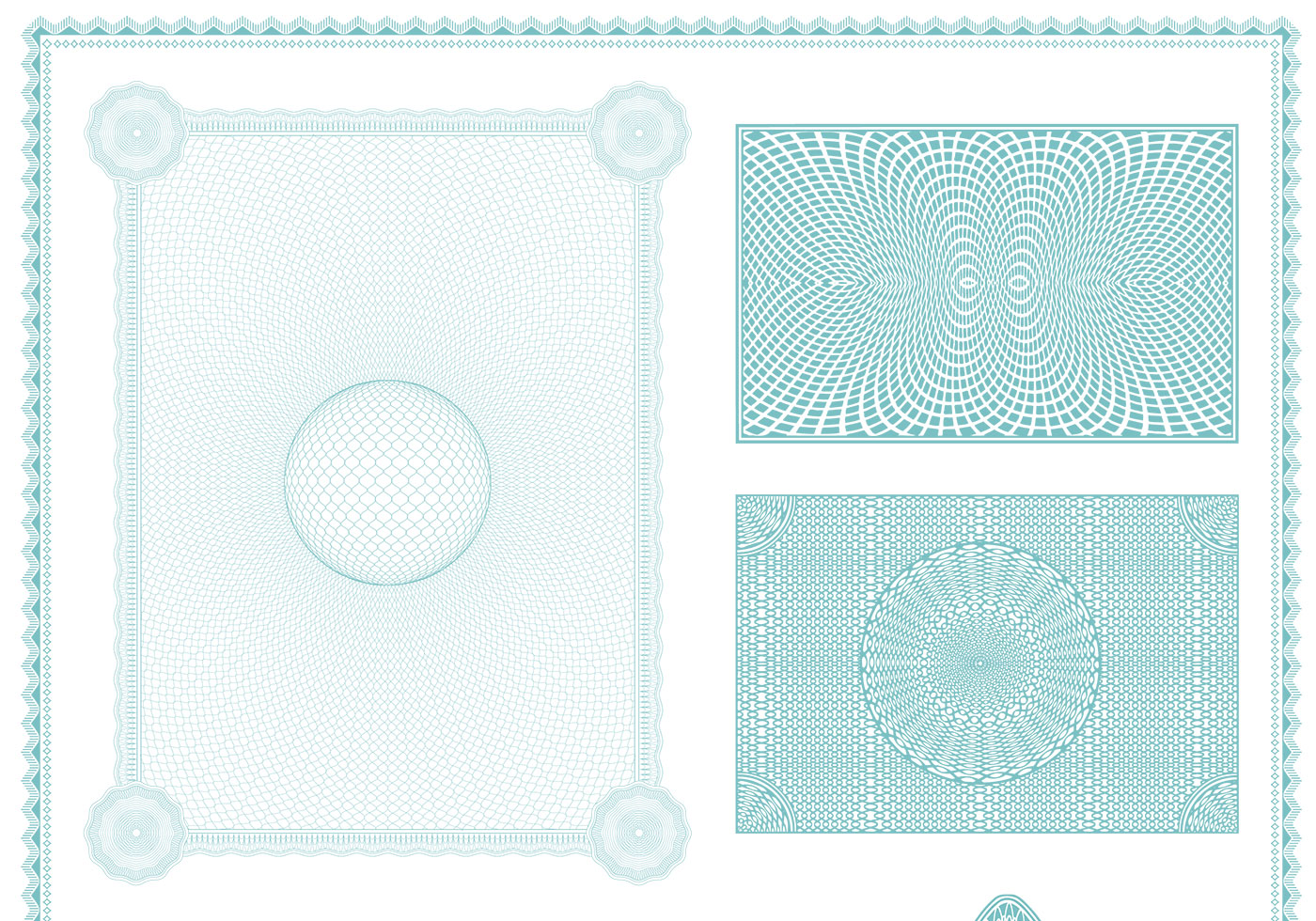 Certificate Backgrounds Vector Pack - Download Free ...