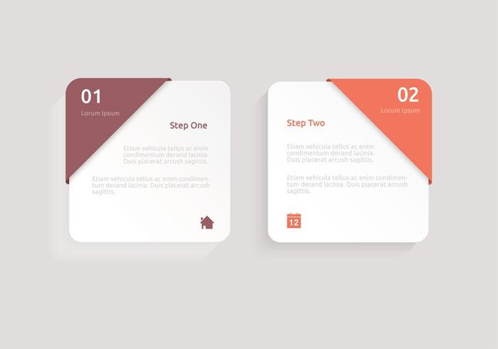 Modern Square Label Vector Pack