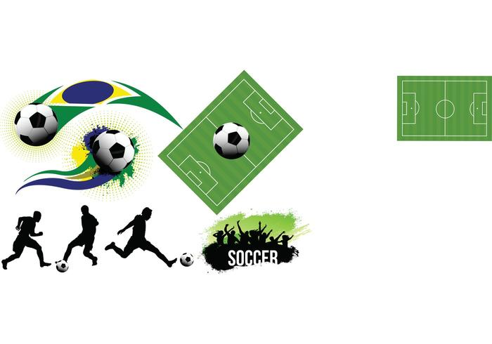 Soccer Vector Elements Set