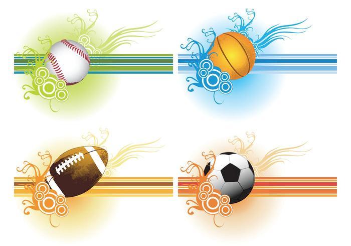 Sport Balls Vector Set