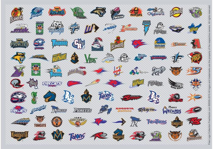 AFL Football Logos