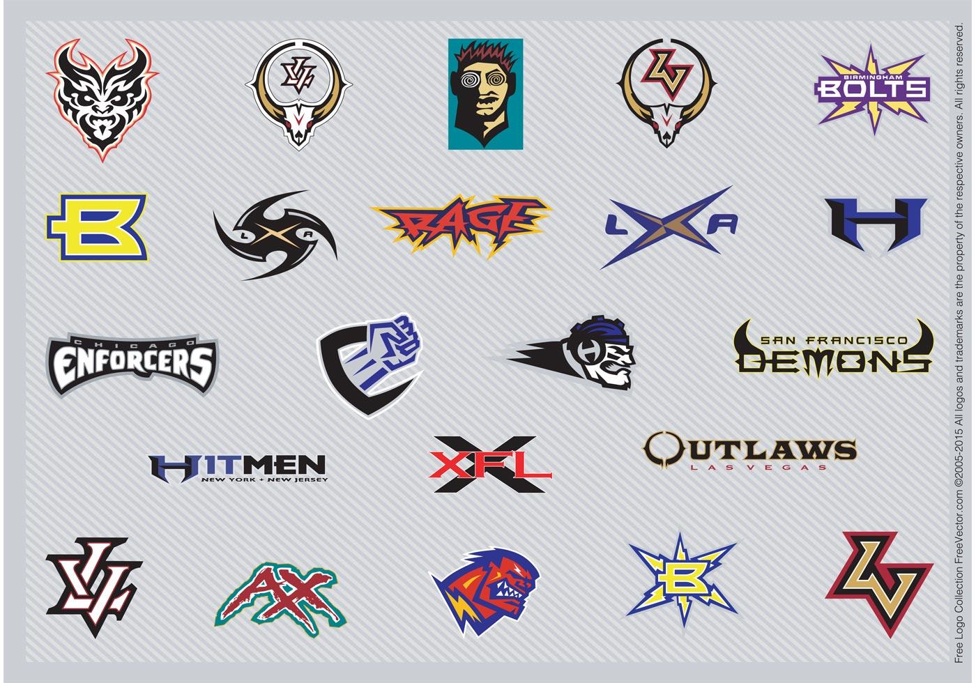 football logo inspiration download free vector art