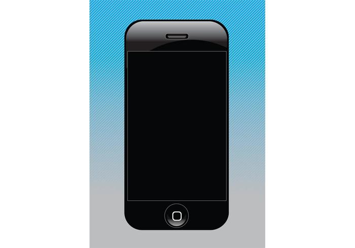Free Vector iPhone Design