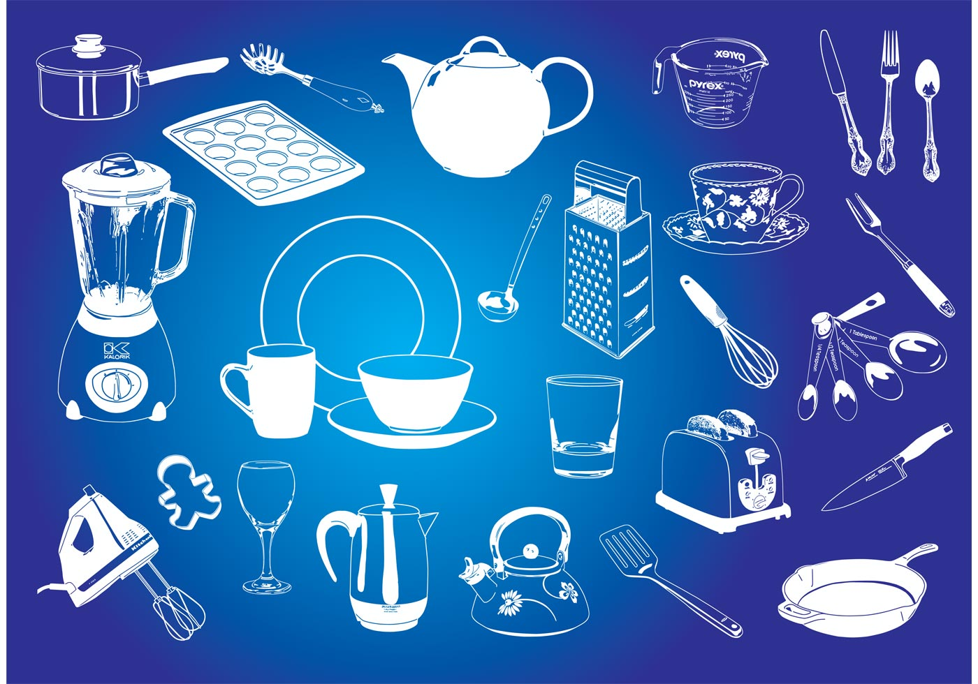 Kitchen Graphics Download Free Vector Art Stock