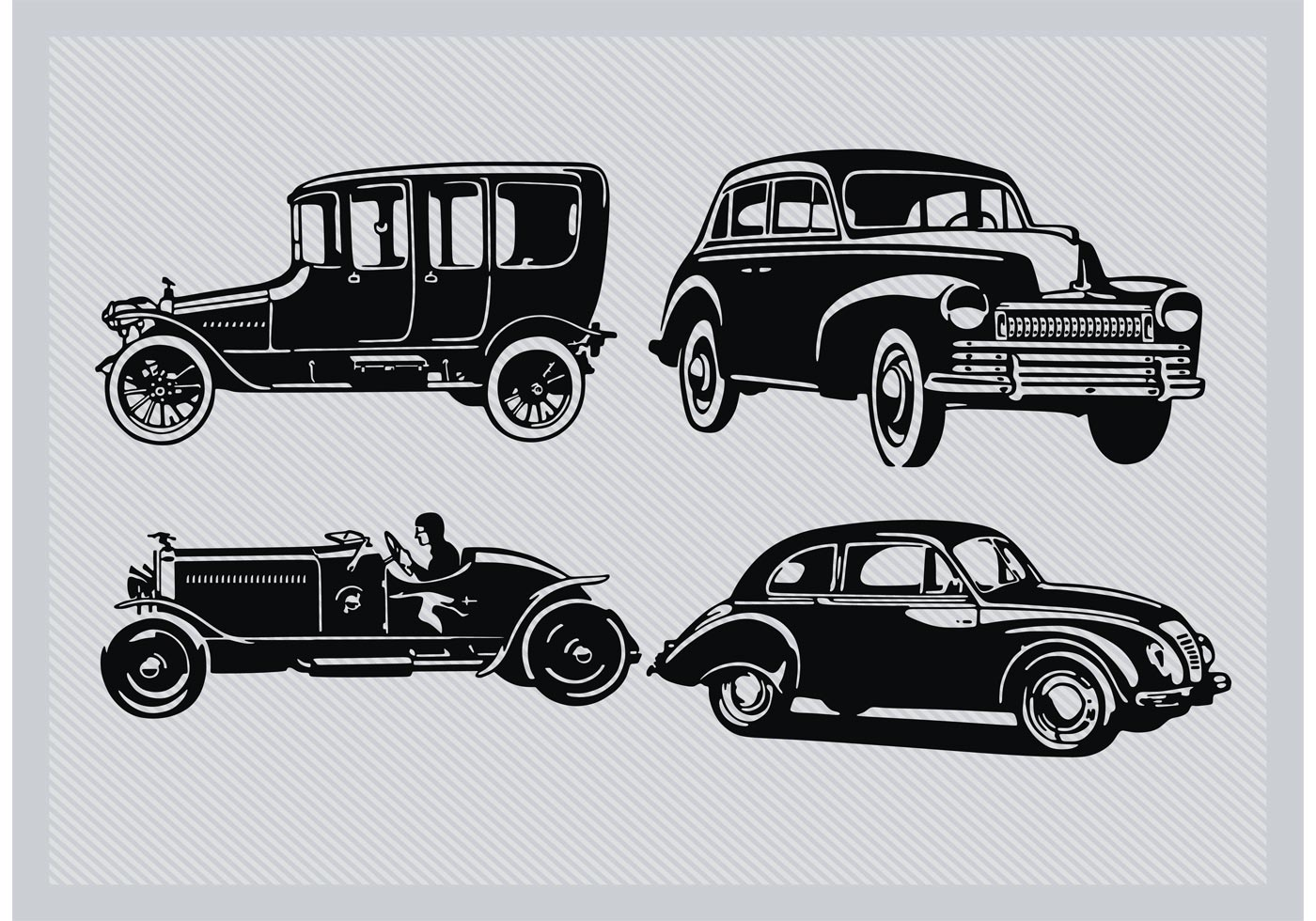 Classic Car Free Vector Art - (5628 Free Downloads)