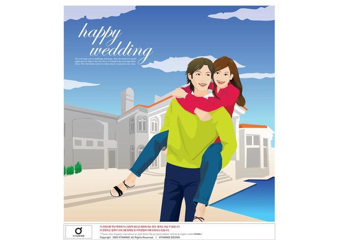 Stor kärlek, lyckligt par