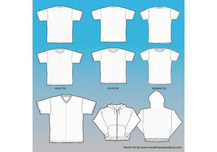 t shirts mock up templates with grid download free vector art