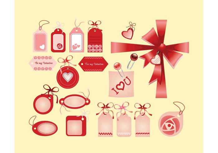 Valentine Love Tags